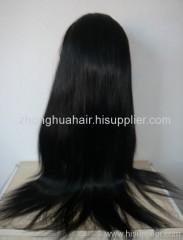virgin European hair full lace wigs