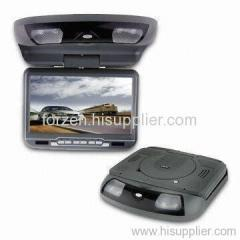 10.4-inch Flip Down DVD Player with IR Transmitter Function and 32-bit Games