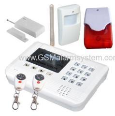 DIY Wireless GSM Home Alarm System