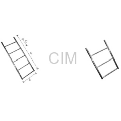 Straight Ladders Weldable