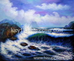 sea oil painting