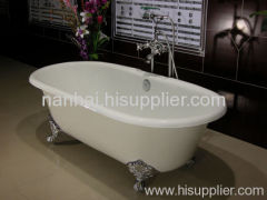 Double ended enamel bath