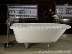 Durable clawfoot bath