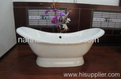 double slipper bath tubs