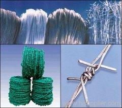 Stand Galvanized Barbed wire