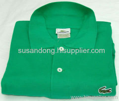 100% cotton mens solid polo shirts