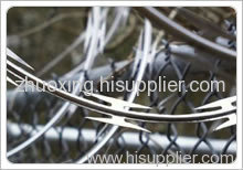 single coil razor barbed wire mesh