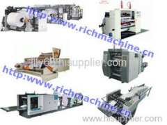 Paper converting machine series