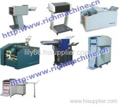 Paper handling machines