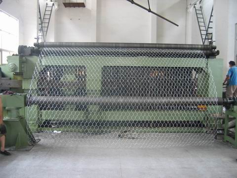 triple twist weave hexaonal wire mesh machine