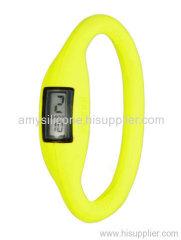 rubber wristband watch