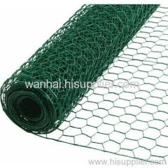 Green pvc coated Poultry Net
