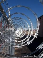 razor wire military fence
