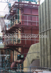 carbon rotary kiln/tank carbon waste heat boiler
