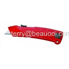 auto-retracting cutter