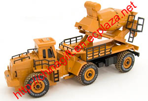 RC Cement Mixer Truck Construction Vehicle