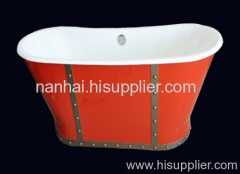 skirted bath like boat