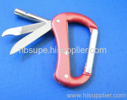 shoes shape carabiner