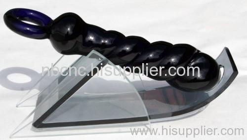 hand made glass dildo