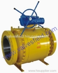 Forged Steel Fixed Ball Valve (3 PC)
