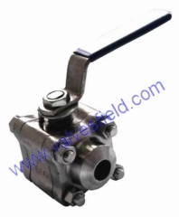 3 PC FORGED STEEL BALL VALVE