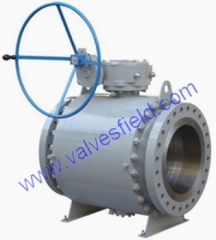 Forged Steel Trunnion Ball Valve-D
