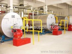 natural gas burning boiler