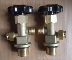 Brass CO2 Cylinder Valve CGA320