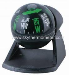 standing car compass ball