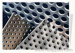 hot dipped galvanized perforated metal