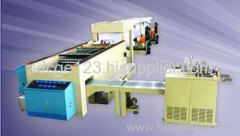 A4 cut size sheeting and wrapping machine