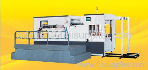 Automatic creasing & die-cutting machine