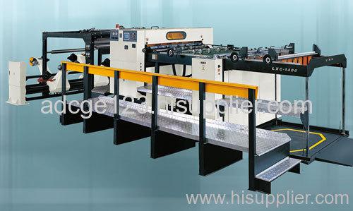 LXC-1400/1700 AC Servo precision high speed sheet cutter