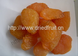 dried peach (dried fruit)
