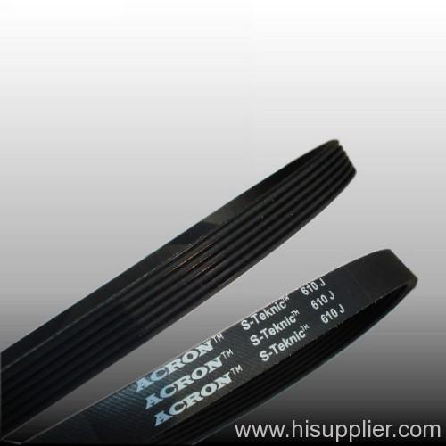 610J6 poly v belt