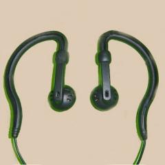 Only listen two way radio earphone