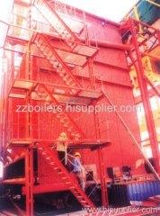 DHL series corner tube chain grate boiler