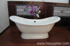 bigger pedestal bathtub