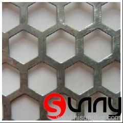 Perforated Metal Hexagonal