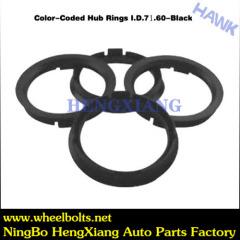 wheel hub black rings