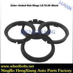 wheel color coded centric hub ring
