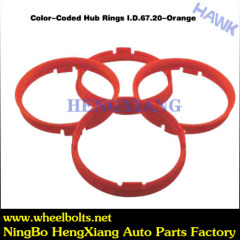 rec color coded hub rings