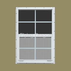 Aluminum Vertical Sliding Window