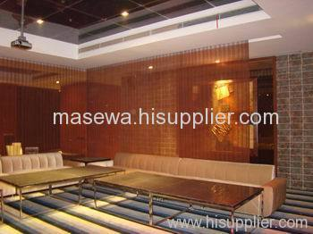 restaurant mesh partition