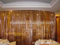 restaurant mesh cloth divider