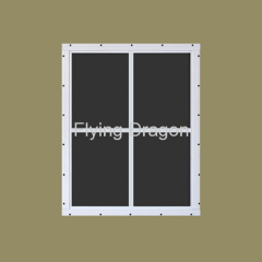 Aluminum vertical sliding window from china manufacturer for Residential window manufacturers