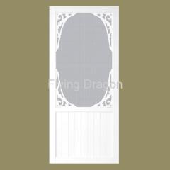 Vinyl PVC Screen Door