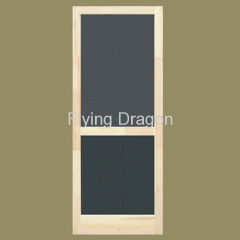 Wooden Screen Door