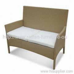garden wicker single sofa