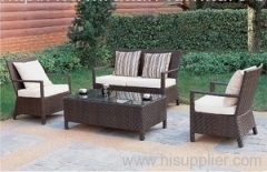 Outdoor wicker modern sofa
